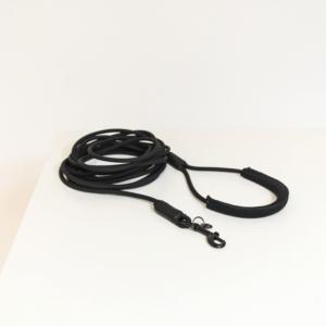 sleeplijn soft rubber zwart