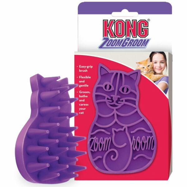 kattenborstel kong zoomgroom